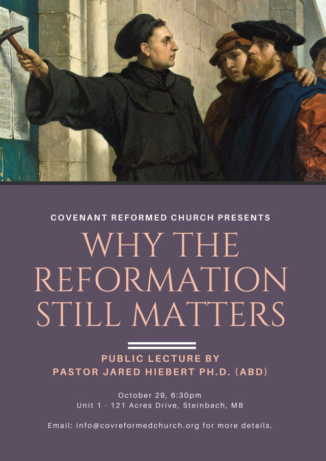 Email - Why the Reformation Still Matters